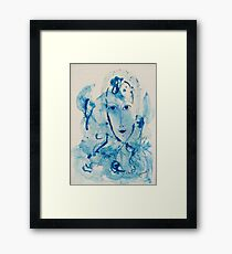 A blue atmosphere... Framed Print