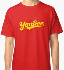 GenuineTee - Yankee (yellow) Classic T-Shirt