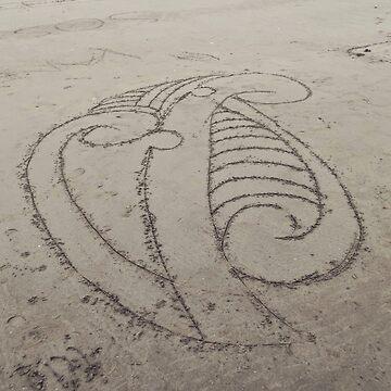 Sand koru by mauriandbrio