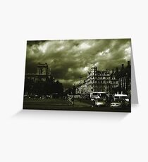 The City Green. Greeting Card