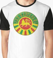 Jah Rastafari Grafik T-Shirt