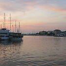 Sunset  in Zadar, Croatia by Dalmatinka
