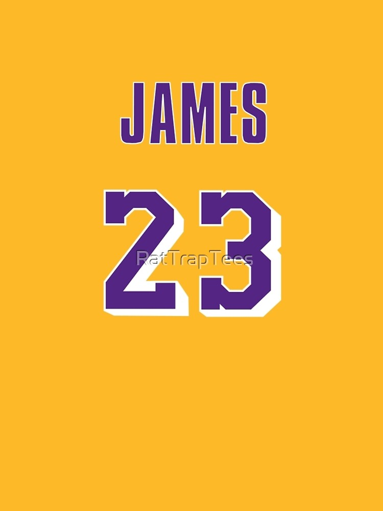 e10ce1ac836 LeBron James Throwback Lakers Jersey 1