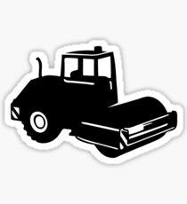 steamroller steamroller Sticker