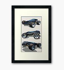 Blues Cruiser Framed Print