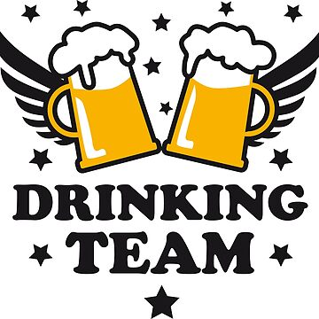 Drinking Team 2 Mass Beer Beer Prost by Margarita-Art