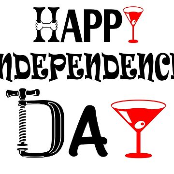 happy indepedence day t-shirt : the 4th of julay  by trendings