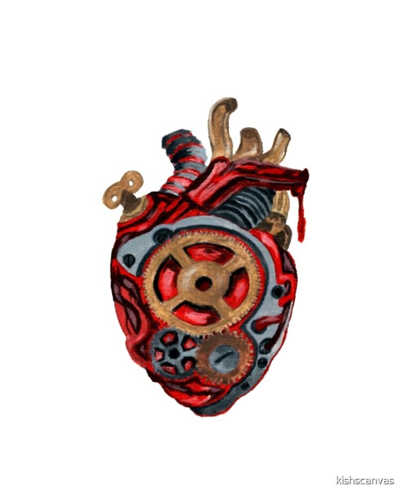 Bionic Heart by kishscanvas