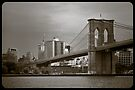 The Brooklyn bridge by Cvail73