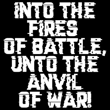 Fires and Anvil Warcry - Marines Battle Cry by gaming-guy