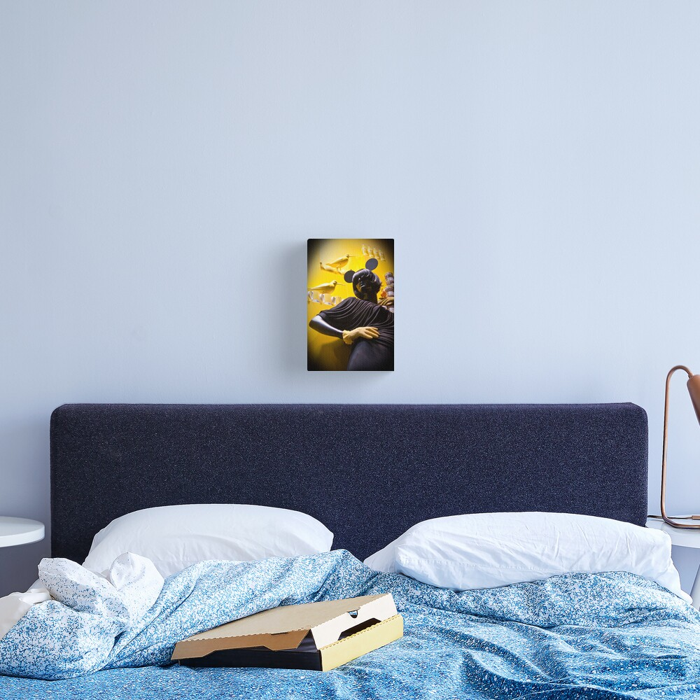 Pose Canvas Print