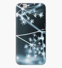 Midnight Glow. Dark Floral iPhone Case
