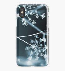 Midnight Glow. Dark Floral iPhone Case