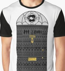 BBC Sherlock 221B Door _ Aztec Design Graphic T-Shirt