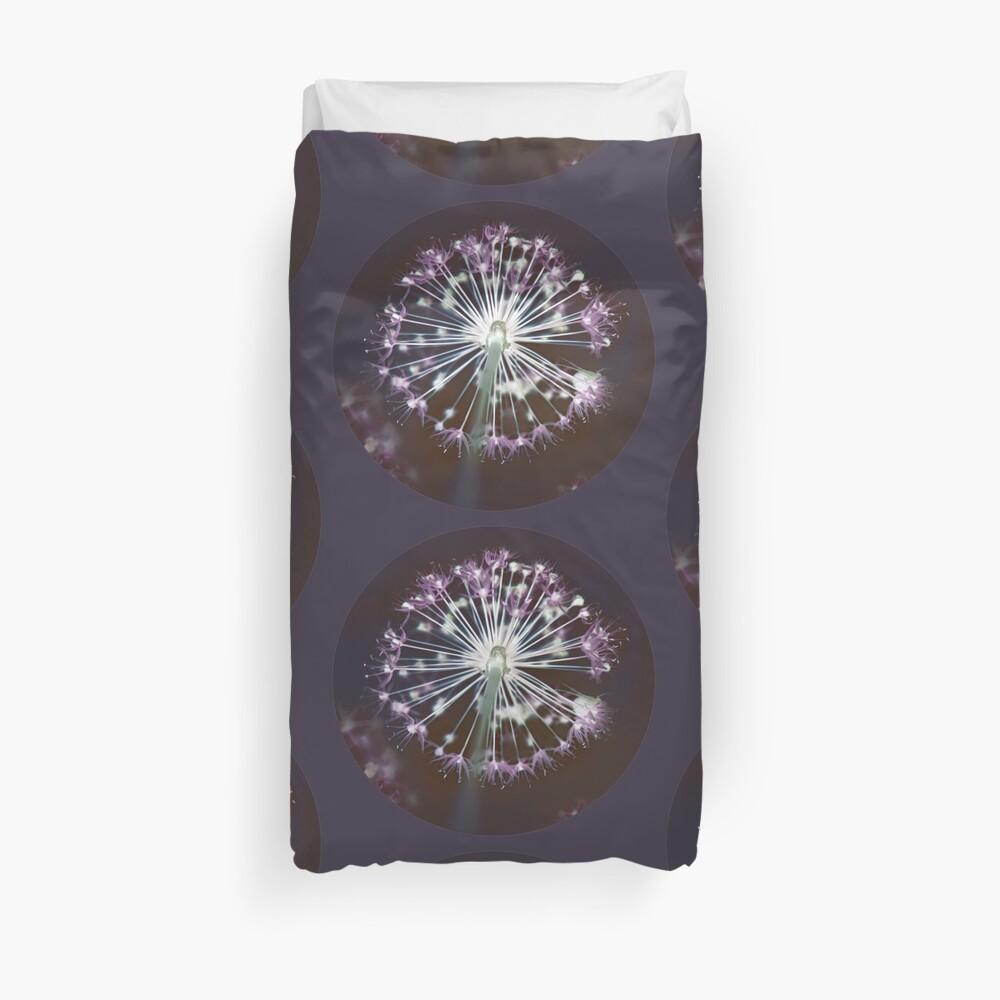 Floral Fireworks. Dark Floral Duvet Cover