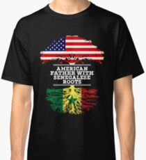 American Father With Senegalese Roots - Gift For Senegalese Dad Classic T-Shirt