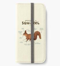 Anatomy of a Squirrel iPhone Wallet/Case/Skin