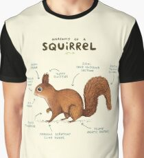 Anatomy of a Squirrel Graphic T-Shirt