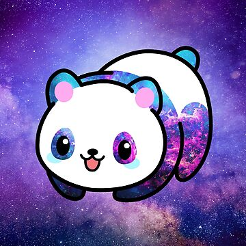 Kawaii Galactic Mighty Panda de EuGeniaArt