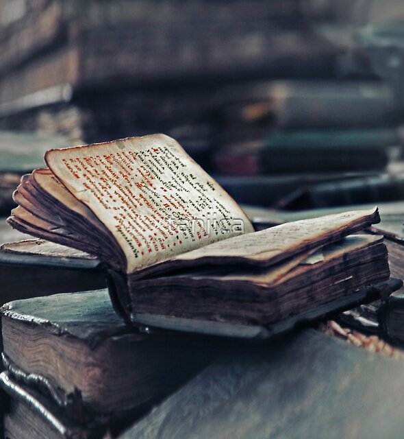 Antique Book. Wingspread Poetry by tanjica