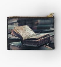 Antique Book. Wingspread Poetry Studio Pouch
