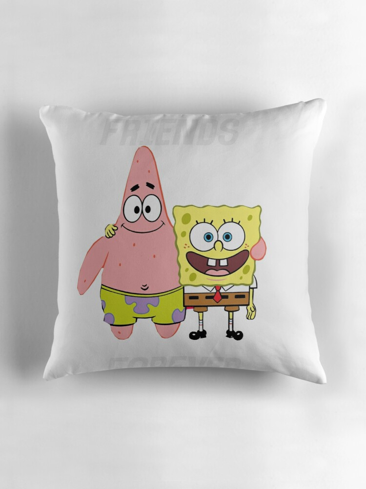Spongebob Squarepants Throw And Pillow Set :
