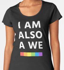 I am also a we (Sense8) Women's Premium T-Shirt