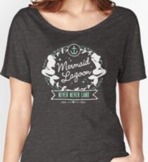 Mermaid Lagoon // Never Land // Peter Pan Women's Relaxed Fit T-Shirt