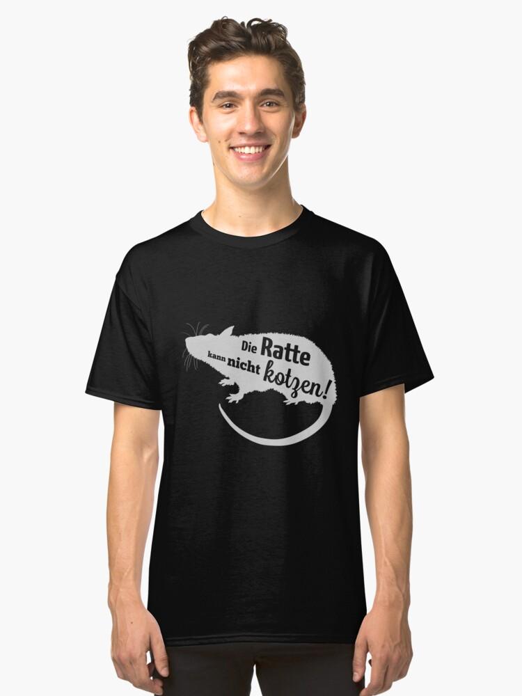 rat Classic T-Shirt Front