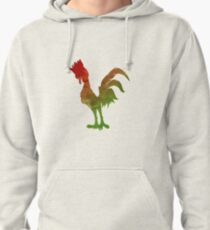 Chicken Inspired Silhouette Pullover Hoodie