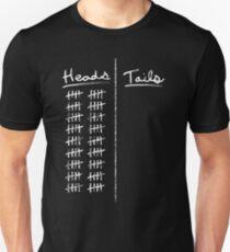 Heads... Slim Fit T-Shirt