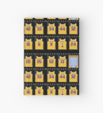 Lebron James Los Angeles Lakers Hardcover Journal