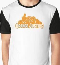 Orange Justice Graphic T-Shirt