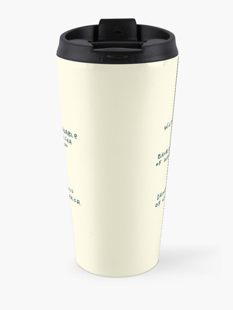 Alternate view of Anatomy of a Pug Travel Mug