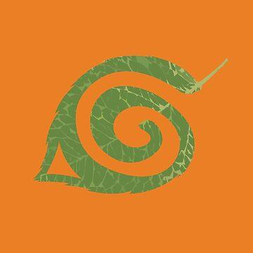Spiral Leaf by KaisCanvas