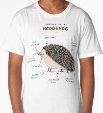 Anatomy of a Hedgehog Long T-Shirt