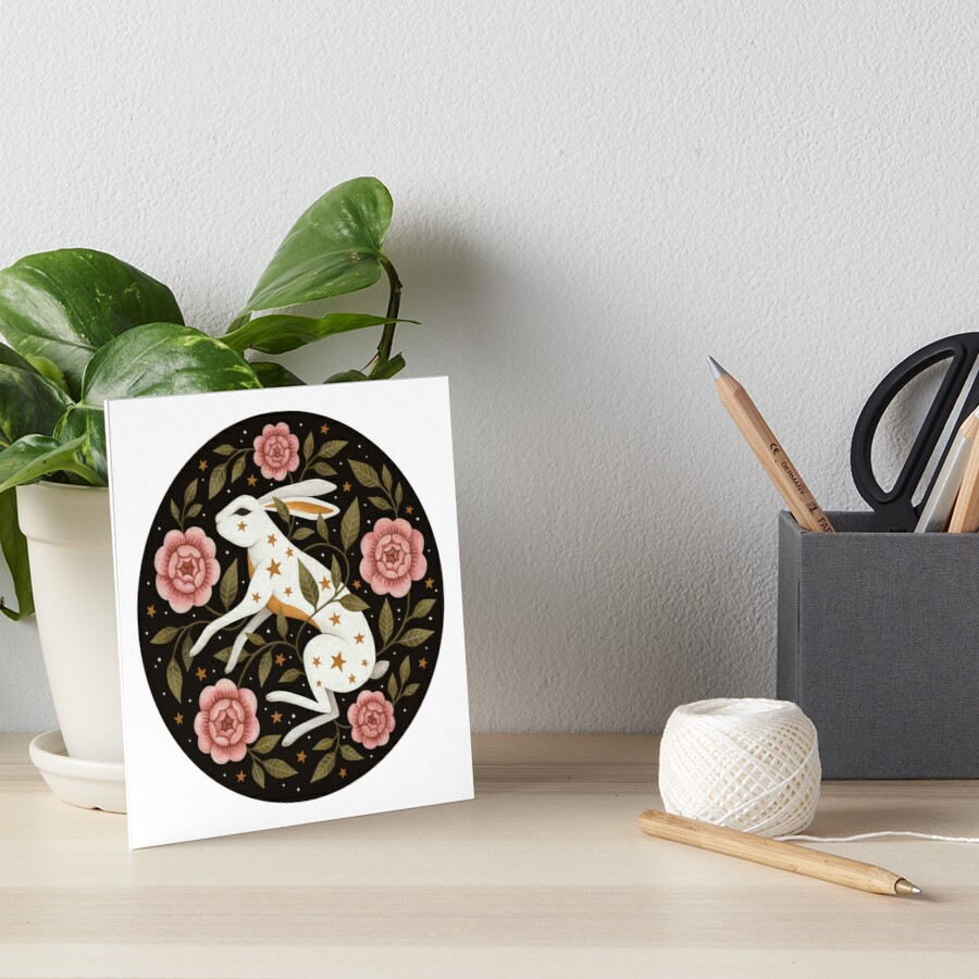 Entangled Art Board Print