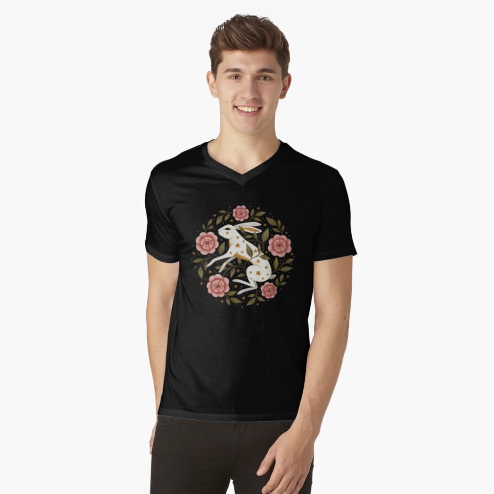 Entangled V-Neck T-Shirt