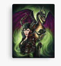 Enter The Dragon Canvas Print