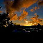 CVS Parking Lot Sunset by TJ Baccari Photography