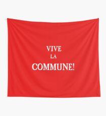 Flagge der Pariser Kommune Wandbehang