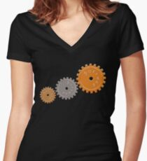 Success Cogs Women's Fitted V-Neck T-Shirt