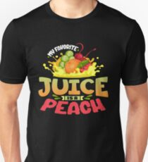 Peach Juice Unisex T-Shirt