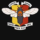 Valorous Beasties: Cicada [Color Ver.] by wanderingkotka