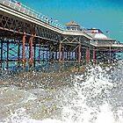 Cromer Pier (Arty) by Beverley Barrett