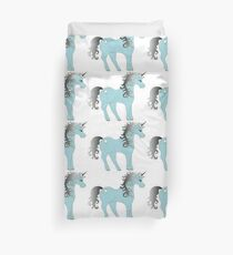 Lovely Unicorn Shirt: Unicorn Clothing/Unicorn Accessories/Funny Unicorn T-shirt Duvet Cover