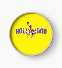 Lebron James Hollywood Lakers Clock