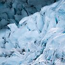 Blue Glacier in Norway - Landscape Photography by Michael Schauer