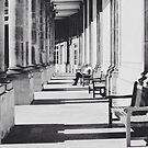 Reading in the sun in Paris. by naranzaria