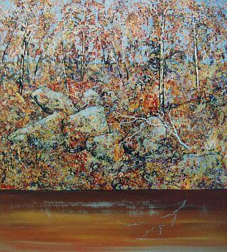 Riverbank by Richard  Tuvey